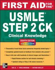 First Aid for the USMLE Step 2 CK Clinical Knowledge 8th Edition 8E (2012) - PDF