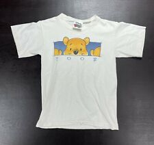 Vintage Winnie The Pooh Youth Size Small Short Sleeve Shirt 90s Single Stitch