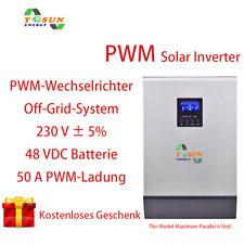 5000VA Solar Wechselrichter 4000W Hybrid Inverter 230VAC 48V PWM 50A Ladegeraet