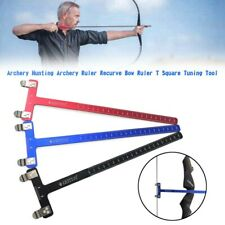 New listing Archery Hunting Archery Ruler Recurve Bow Ruler T Square Tuning Tool YU