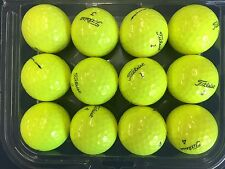 6 DOZEN TITLEIST NXT TOUR S YELLOW MINT CONDITION GOLF BALLS AAAAA