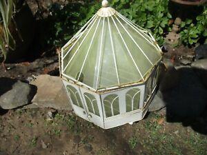 Vintage Miniature Greenhouse