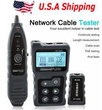 Noyafa Nf 8209 Measure Length Lan Cable Poe Wire Checker Cat5 Cat6 Lan Tester