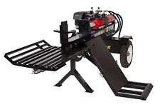 37 Ton Hydraulic Wood Log Splitter Honda GX390 Gas Engine w/ Log Lift & Catcher