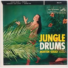 MORTON GOULD: Jungle Drums '56 Jazz Pop Exotica RCA VICTOR ERA-271 45
