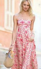 Victoria Secret Fold Over Convertible Maxi Dress Skirt Multi Way Peach Pink SM