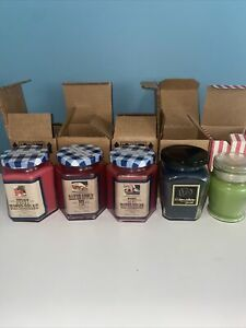 Candle Lot- Home Interiors, Langley Candle Brands