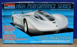 Monogram 2901 Oldsmobile Aerotech Kit Sealed Inside 1:24 1989 High Performance