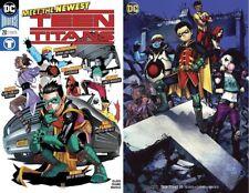 Teen Titans #20 Regular & Variant cover Set! 1st full app Crush Lobo's daughter!