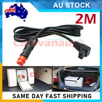 2m Merit and Cigarette Plug to Waeco Fridge Adaptor 12V Power Lead Cable AU
