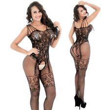 Fishnet Body Stockings Sleepwear Adult New Bodysuit Women's Lingerie Babydoll