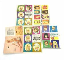 5 Vintage Barbie & Ken Fashions Book Booklet Mini-Catalog Pamphlet Brochures
