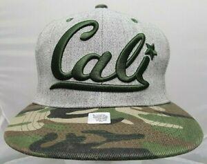 Cali/California camo adjustable cap/hat