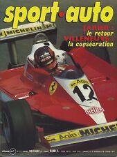 SPORT AUTO n°202 11/1978 avec encart & poster