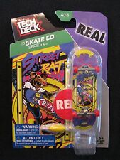 TECH DECK TD Skate Co. Series 4, REAL Street Rat 4/8 Finger board Display Stand