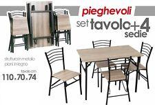 tavolo cucina pieghevole in vendita Set tavoli e sedie | eBay