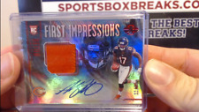 2018 Panini Illusions Football Anthony Miller RPA Rookie Patch Auto #33/50