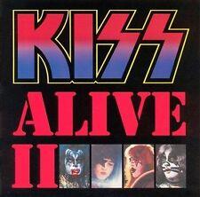 KISS - ALIVE II [REMASTER]  CD Rock Music Audio Disc Gene Simmons Peter Crisp