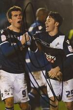 MILLWALL: ADAM SMITH SIGNED 6x4 ACTION PHOTO+COA