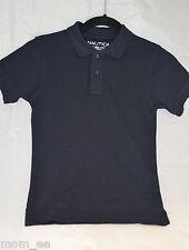 NAUTICA Polo Shirt Boys Kids Blue Black Yellow Gold White Burgundy Short Sleeve