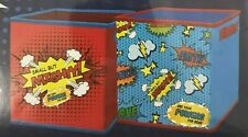 2 Piece Idea Nuova Collapsible Storage Bins Comics Superhero Action 10x10