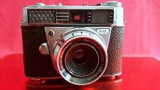 Kodak Retina Automatic II 35mm Film Camera With Retina-Reomar f:2.8 / 45mm Lens