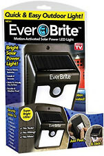 Ever Brite Motion Activated Solar Power Outdoor Stick-up LED Light AS Seen ON TV