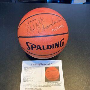Wilt Chamberlain Dr. J Charles Barkley Philadelphia 76ers Signed Basketball JSA