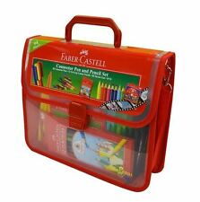 NEW FABER CASTELL Connector Pen And Pencil Set 94 Pieces Kids Children Colouring