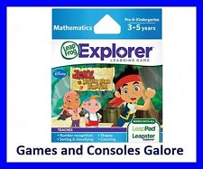 NEW Leap Pad Ultimate Game, LeapPad Game Jake and the Never Land Pirates