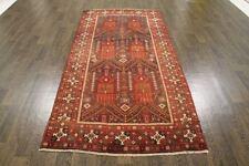 Vintage Tradicional Lana Persa 3.9 X 7.9 alfombra hecha a mano Alfombra oriental Rugs