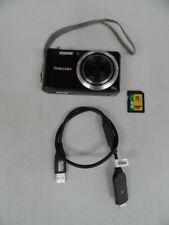 SAMSUNG HZ30W Digital Camera Smart Black 12MP 15X Zoom Movie Bundle SEE AUCTION