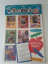 Memories School Days Scrapbook Page Kit Frances Meyer paper stickers shapes
