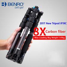 1PC BENRO IF19C tripod carbon fiber portable travel tripod