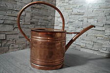 antique French watering can garden flowers