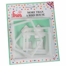 FMM More Than A Birdhouse Cutters Sugarcraft cake decorating   Next Day Despatch