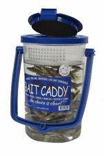 New Bait Caddy Live Minnow Clear Bait Bucket Bc1