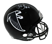 Julio Jones Autographed Atlanta Falcons Authentic 1990-02 Helmet BAS 30013