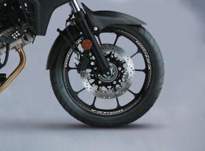 Suzuki DL1000 V-Strom Rear Wheel Rim Sticker Decal Set 990D031JR5PAD