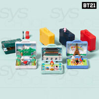 BTS BT21 Official Authentic Goods Travel Diorama + Tracking Number