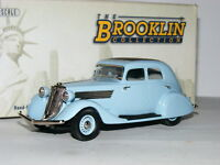 Brooklin BRK127 1934 Studebaker Commander Land Cruiser Light Blue 1/43