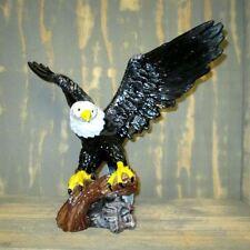 WEIßKOPFADLER SEEADLER ADLER Weißkopfseeadler Greifvogel Deko Figur SKULPTUR