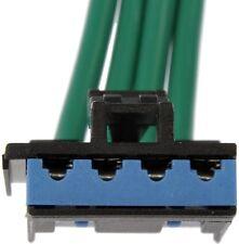 HVAC Blower Motor Resistor Connector Front/Rear Dorman 973-305