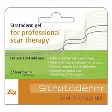 STRATADERM SCAR THERAPY GEL 20G SOFTENS & FLATTENS RAISED SCARS