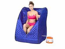 Portable Therapeutic Steam Sauna Spa Full Body Slim Detox Weight Loss Indoo