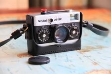Leather Black Half Case for Rollei 35 - BRAND NEW