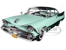 1959 Dodge Custom Royal Lancer Hard Top Green 1/18 Platinum by SUNSTAR 5483