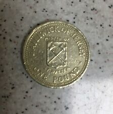1983 balliwick of jersey parish of st helier £1 One pound coin