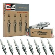 8 Champion Copper Spark Plugs Set for 1959 DODGE P450 SERIES V8-5.2L