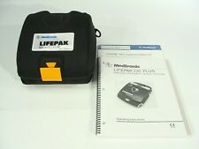 Physio-Control LIFEPAK CR Plus Semi-Automatic AED + New Pads, Battery, Case, +